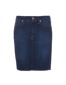 7 FOR ALL MANKIND Pencil Boston Blue