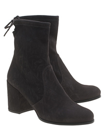 STUART WEITZMAN Shorty Anthracite Suede