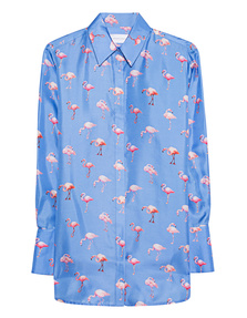 VICTORIA, VICTORIA BECKHAM Fluid Flamingo Multicolor