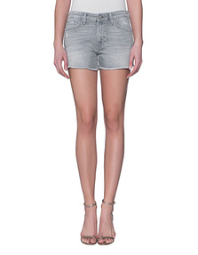 7 FOR ALL MANKIND Slouchy Short Cool Grey