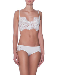 FOR LOVE AND LEMONS Pantie Sage White