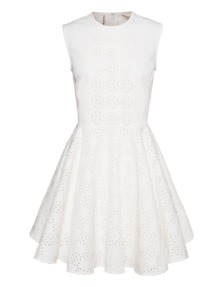 GIAMBATTISTA VALLI FOR SEVEN FOR ALL MANKIND Swing Lace White