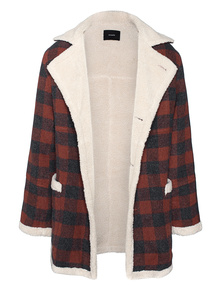 STAMPD Lambskin Checked Red