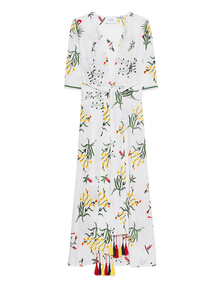 WE ARE LEONE Provence Floral Embroidered White