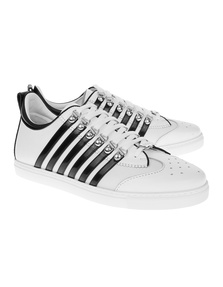 DSQUARED2 Basic Stripes White