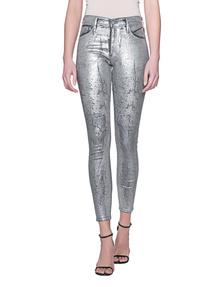 AG Jeans Farrah Skinny Ankle Silver
