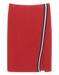 SPLENDID Sweat Stripe Red