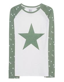 ZOE KARSSEN Stars Off White