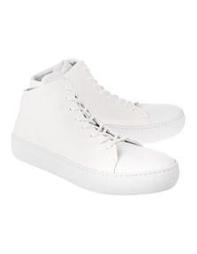 HANNES ROETHER Ankle High Off White
