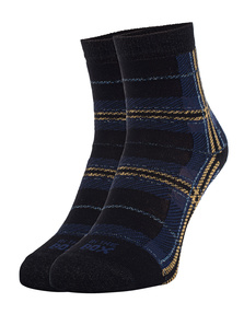 IN THE BOX Tartan Black-Blue