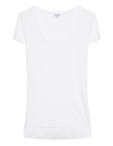 SPLENDID Very Light Jersey Shortsleeve White