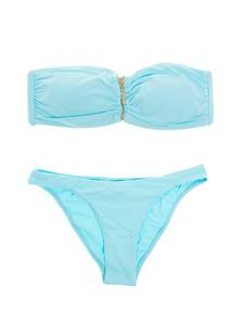 Melissa Odabash Sumatra Zip Sky Blue