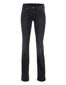 7 FOR ALL MANKIND Charlize Feather Weights Black