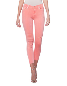 7 FOR ALL MANKIND The Skinny Crop Coral