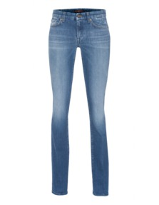 7 FOR ALL MANKIND The Classic Boot Washed Blue