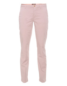 7 FOR ALL MANKIND Roxanne Sateen Dusty Pink
