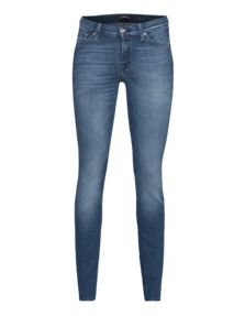 7 FOR ALL MANKIND The Skinny Riche Touch Mid Blue