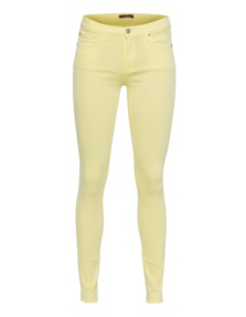 7 FOR ALL MANKIND The Skinny Clean Pocket Yellow