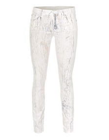 7 FOR ALL MANKIND The Skinny True Batik Print