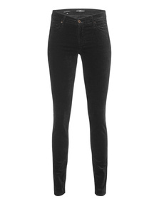 7 FOR ALL MANKIND The Skinny Velvet Black