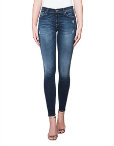 7 FOR ALL MANKIND The Skinny Slim Illusion Dark Indigo