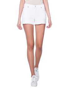 7 FOR ALL MANKIND Midrise White