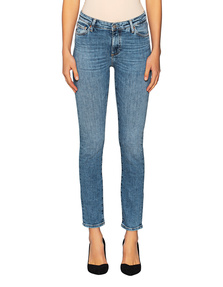 AG Jeans Marie Slim Straight High Rise Light Blue