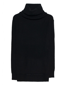 JADICTED Ripped Oversize Black