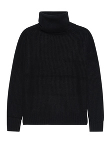 JADICTED Cashmere Turtleneck Black