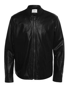 Dondup Leather Basic Clean Black