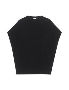 VINCE Short Sleeve Knit Black