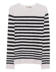 VINCE Bubble Knit Stripe Black
