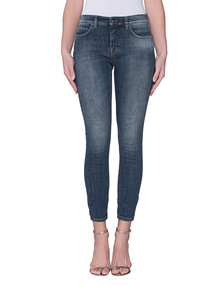 VICTORIA, VICTORIA BECKHAM Ankle Skinny Twilight Blue