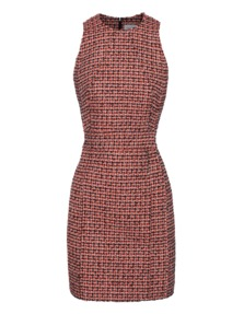 VICTORIA, VICTORIA BECKHAM Bouclé Neon Tweed Orange