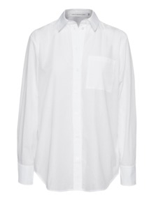 VICTORIA, VICTORIA BECKHAM Contrast Man's Perforated White