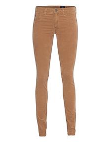 AG Jeans The Velvet Legging Sulfur Golden Brown
