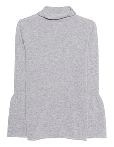 Rosa & Me Flared Sleeve Lightgrey