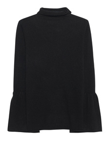 Rosa & Me Flared Sleeve Black