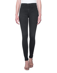 RAG&BONE High Rise Jean Tech Washed Black