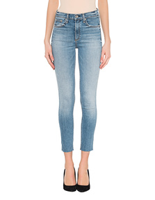 RAG&BONE High Rise Ankle Light Blue