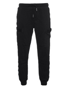 TRUE RELIGION Pant Cargo Tape Black
