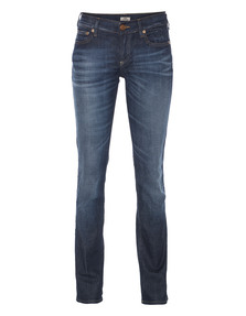 TRUE RELIGION Cora Mid Rise Straight Sixties