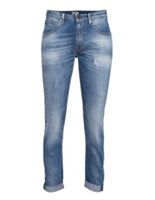 TRUE RELIGION Grace Sloutchy Skinny LA Blue