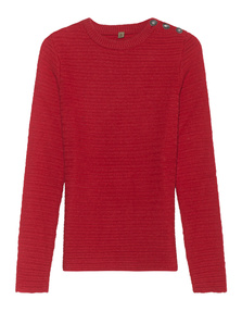 TRUE RELIGION Sweater Tomato