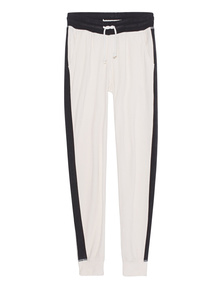 TRUE RELIGION Velvet Stripe White