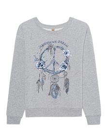 TRUE RELIGION American Dream Grey Melange