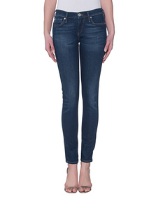 TRUE RELIGION Casey Low Rise Super Skinny Ballad Blu