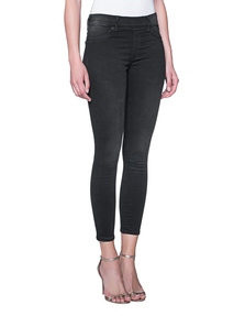 TRUE RELIGION Jegging Black Denim