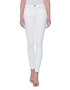 TRUE RELIGION Halle Optic White
