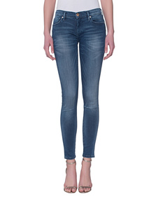 TRUE RELIGION Casey Stretch Denim Blue